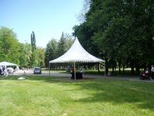 Шатра Пагода с размер 5 х 5м - 25 кв.м с дървен под - Южен парк